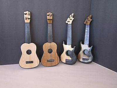 "LIGHT WOOD GRAIN ACOUSTIC GUITAR fits American Girl Dolls and Other 18"" Dolls"