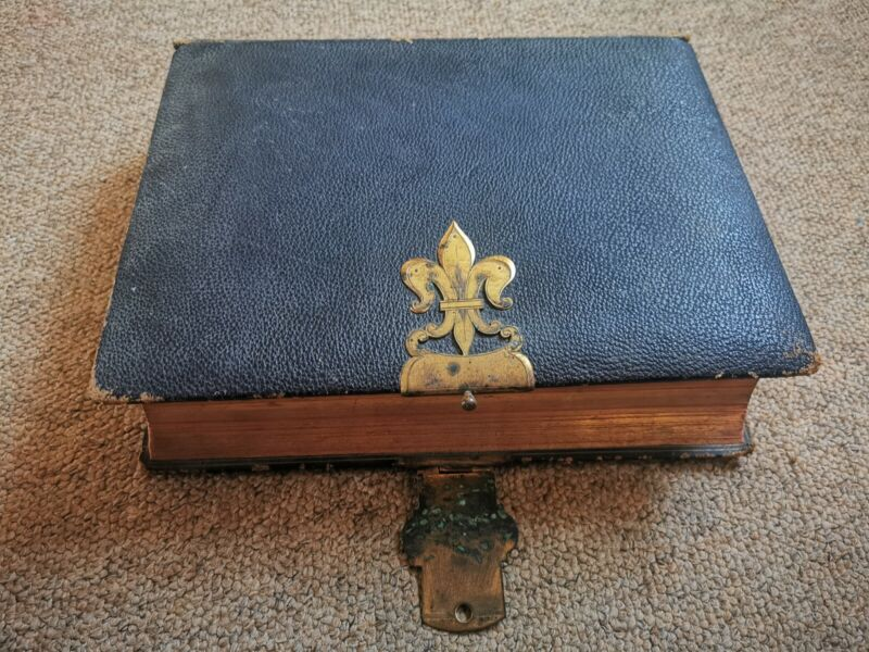 Holy Bible 1878 Large Henry Frowde London Antique rare vintage collectable