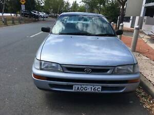 1999 Toyota Corolla Sedan - Good condition, registered