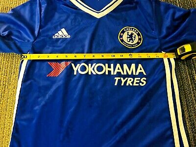Adidas Chelsea Home Jersey - Authentic Adidas Climalite Diego Costa #19 Chelsea Home Jersey - Youth Size L