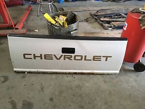 Tailgate from 1995 S10 Chevy truck white