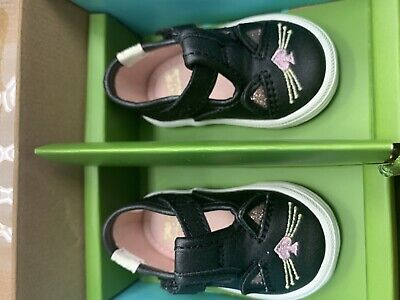 NWT Kate Spade Keds Hayden Cat T-Strap Baby Crib Sneakers - Size 2