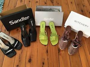 4 Pairs of Women's Shoes Size 8 & 8.5 As New Witchery & Sandler Cabarita Canada Bay Area Preview