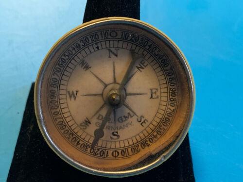 Vtg D.R. G. M. Germany Compass Insert