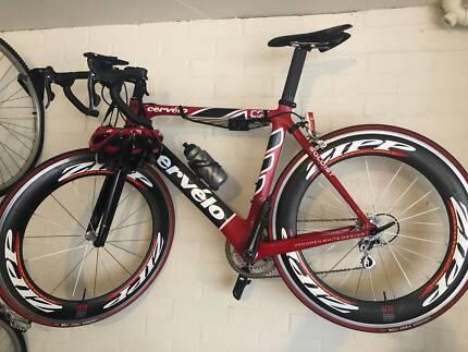 Cervelo SLC Carbon 54cm with Zipp 808 Wheelset mens racing bike