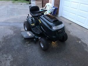 "Yard Works 42"" Shift On The Go riding mower"