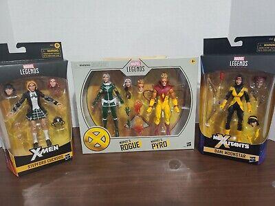 Marvel Legends X-Men Rogue Pyro Dani Moonstar and Stepford Cuckoos