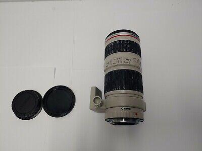 Canon EF 70-200mm F/4 IS USM Camera Lens