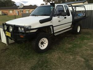 Supercharged V6 89 Toyota Hilux space cab Paxton Cessnock Area Preview