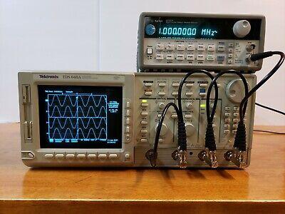 Tektronix Tds640a Oscilloscope 4-channels 500mhz