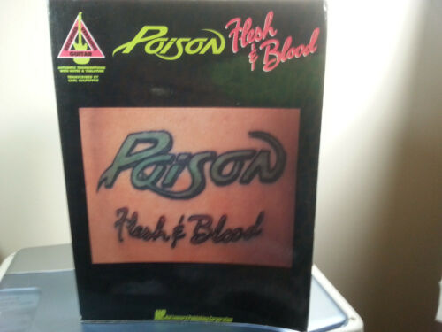 POISON ~ Flesh & Blood : Guitar Recorded Versions ( Tablature Songbook ) Photos