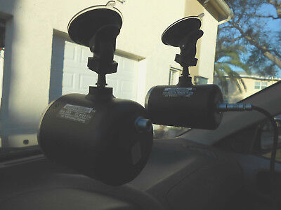 Decatur Genesis Police Radar Quick Release Antenna Window Mounts 2pk