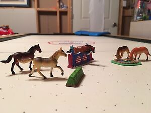 KidKraft wooden stable and coral with Breyer horses St. John's Newfoundland image 10