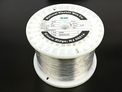 Pure Nickel Wire 26 Gauge 9.30 Lb 12210 Ft Non Resistance Awg Ni200 Nickel 200