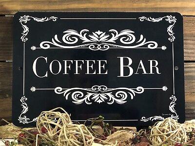 Coffee Bar Sign- Wedding Decor - Party Decor Sign - 12x8 Sign - Coffee (Wedding Bar Signs)