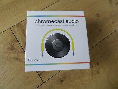 Google Chromecast Audio (2nd Generation) Media Streamer -  Brand New (sealed)