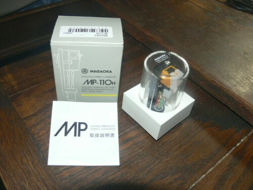 Nagaoka MP-110H Stereo Elliptical Diamond Stylus Cartridge with Head Shell - USA