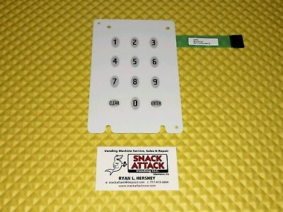Vendo Vue 30 40 Soda Vending Machine Membrane Switch Or Key Pad Part1127318