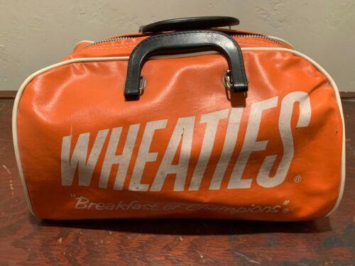 Vintage Wheaties Vinyl Duffel Bag/Gym Bag – EVC