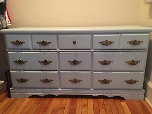Sweet Blue Dresser FOR SALE