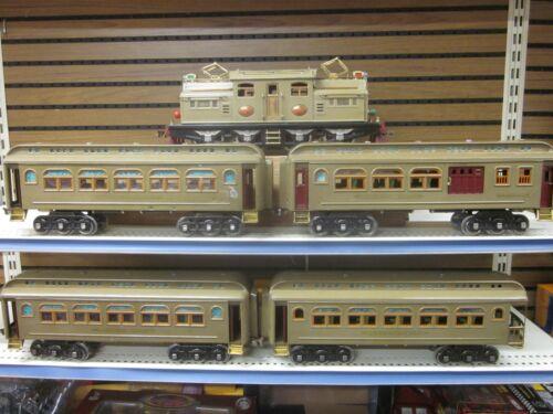 LIONEL 408E SET 418, 419, 431, 490,  SET # 409E ( STANDARD GAUGE ) W/ BOXES