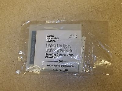 New Eaton Seal Kit For Steering Control Units 74914283-2 Free Shipping