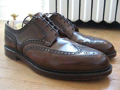 Crockett & Jones Ralph Lauren Marlow Cigar Brown Shell Cordovan Size 12 D Shoes