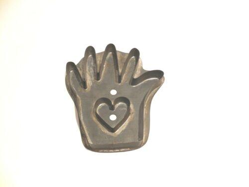 Cookie Cutter - Heart & Hand Cookie Cutter - Folk Art* - Wonderful!