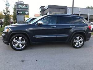 2012 Jeep Grand Cherokee OVERLAND GPS TOIT OUVRANT