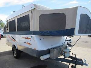 GOLF CHALLENGER CAMPER TRAILER Currajong Townsville City Preview