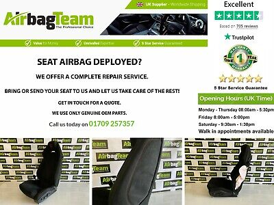 TESLA CAR SEAT AND AIRBAG COMPLETE REPAIR SERVICE RECONDITIONING SERVICE