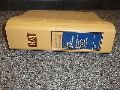 Caterpillar Cat 12h Motor Grader Road Es Version Shop Service Repair Manual
