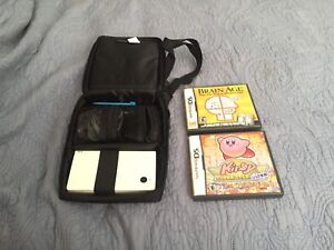 DSi white with two games
