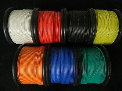 16 GAUGE WIRE PICK 4 COLORS 50 FT EACH PRIMARY AWG STRANDED COPPER POWER REMOTE