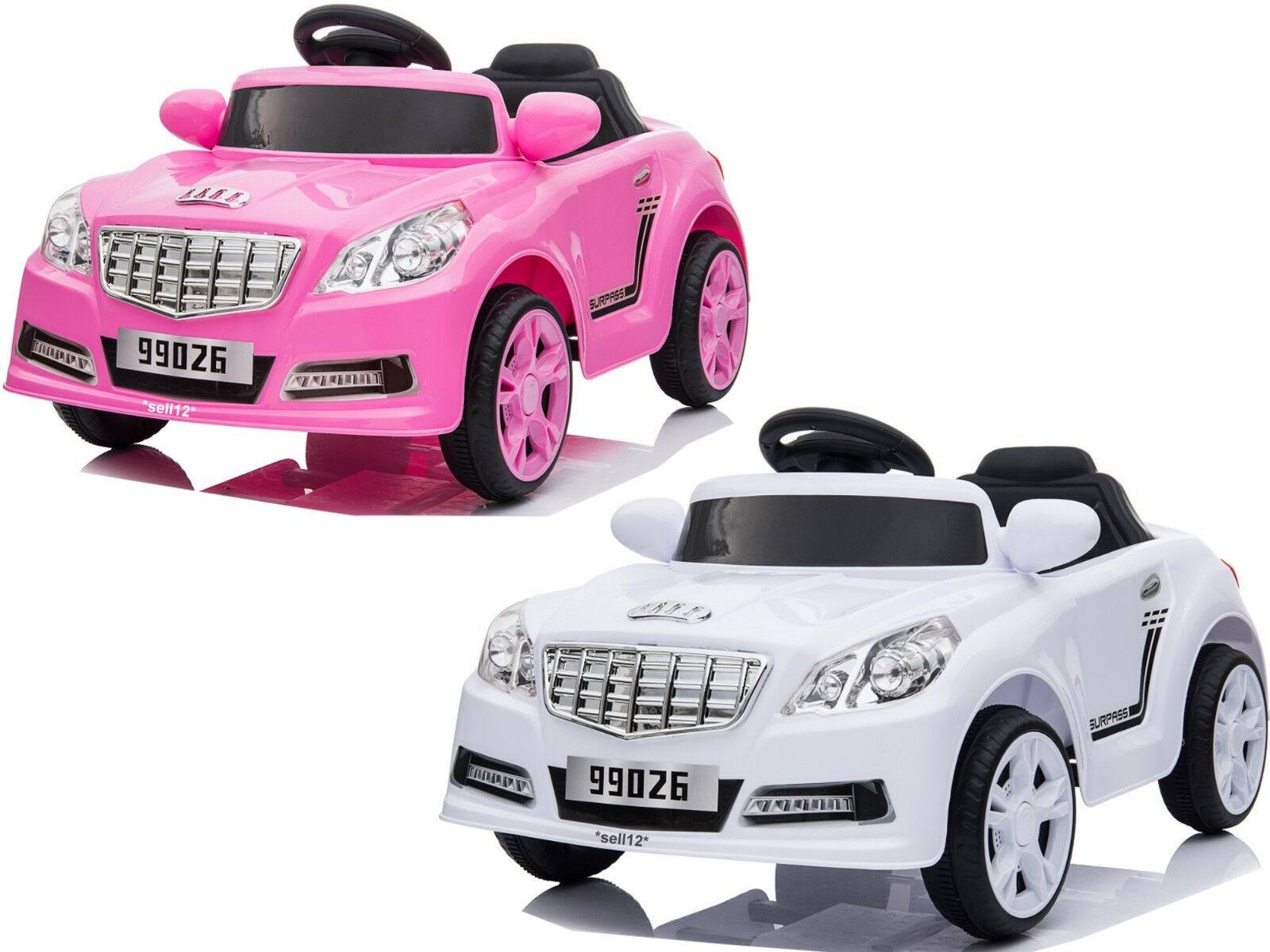 Speed Kinder Elektro Auto Sportwagen Akku Cabrio Kinderfahrzeug RC LED MP3 USB