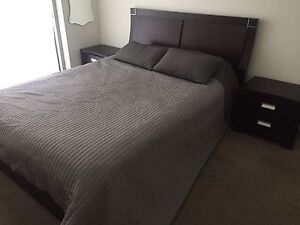 Queen Bed with bedside tables Maroubra Eastern Suburbs Preview