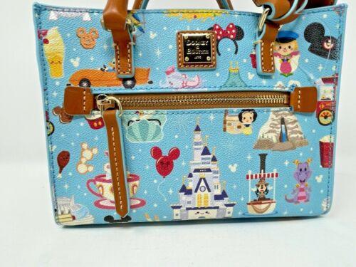 Disney Dooney and & Bourke Jerrod Maruyama Crossbody Bag Purse Castle Cute C NWT