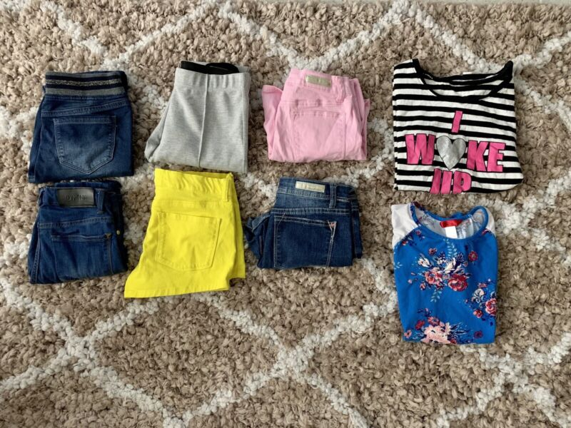 Girls Clothing Lot Size 13/14 8 Pieces Dkny Forever 21 Shorts Summer Fall
