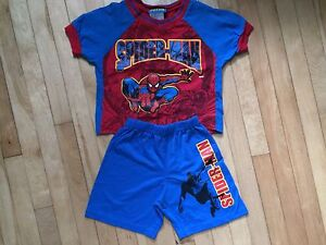 Pyjama Spiderman 3/4 ans