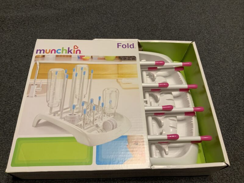 Munchkin Fold Baby Cup And Bottle Drying Stand