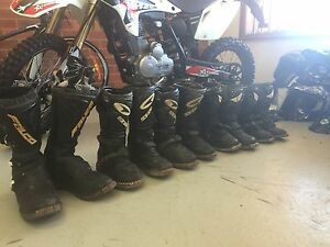 Used Motorcycle boots Bendigo Bendigo City Preview