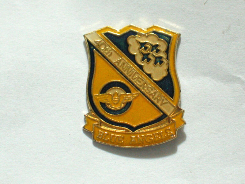 Blue Angels 40th Anniversary Pin