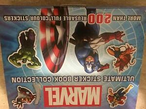 Marvel Sticker Book Collaroy Manly Area Preview