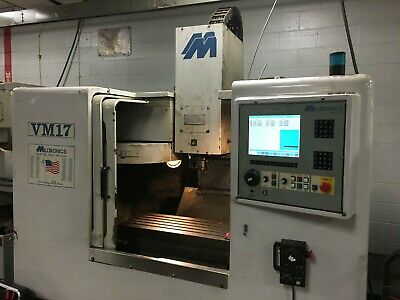 Milltronics Model Vm17 3-axis Vertical Machining Center New 99