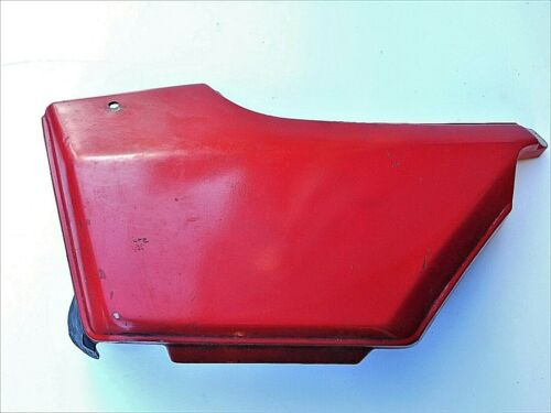 HONDA SUPERDREAM CB250N CB400N - ORIGINAL LEFT HAND SIDE PANEL NEEDS REPAIR