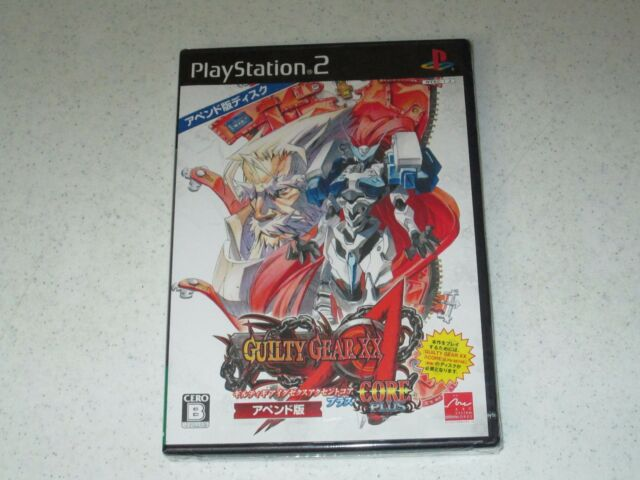 Guilty Gear XX Accent Core Plus (Append Edition) Sony PS2 Japan Import FREE SHIP