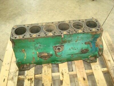 1949 Oliver 88 Tractor Engine Block