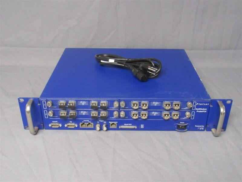 Finisar Probe FCX Fibre Channel Analyzer NW-C041 w/ 4x Xgig-NW-4FCX Blades