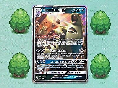 Pokemon - Tyranitar GX - 121/214 - SM Lost Thunder - Half Art