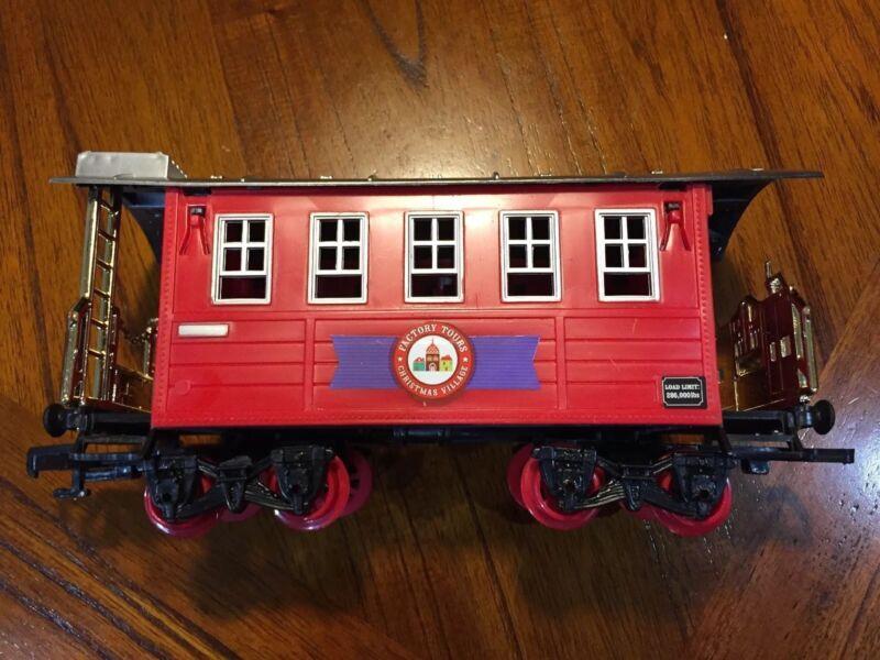 Blue Hat North Pole Junction Christmas Train Car